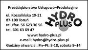 Wizytówka Hydro-PLUS